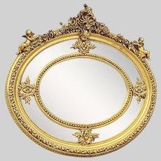 Beautiful  Oval Shaped Wall Mirror- Worldwide free shipping