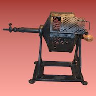 Vintage Coffee Bean Roaster  Gas  1918 Cucala Tostador