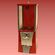 "Eagle Capsule or Candy Vending Machine 25 Cent  1 1/2"" dia."
