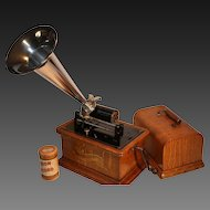 "Columbia Graphophone Model BK  ""Jewel"" 1906  Excellent"