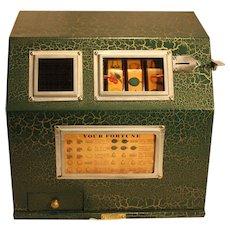 Blue Bird Products Baby Bell Three Reel Trade Stimulator  Gumball Machine 1927