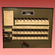 Instructional Voting Machine 1944 Franklin D. Roosevelt  Thomas E. Dewey Election