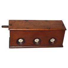 Antique Mechanical  Dice Game Tavern