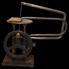 Delta Specialty Co. Scroll Saw 1923