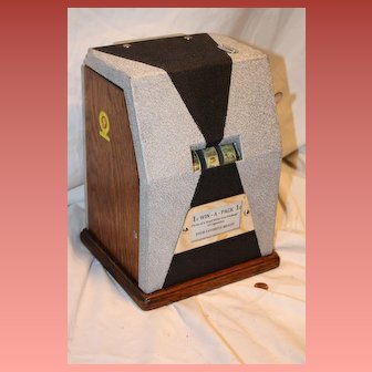 Jennings Win-A-Pack Trade Stimulator 1930's