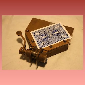 Vintage Playing Card Corner Trimmer T.R. King & Co.