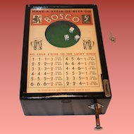 Bally Bosco Bartop Dice Gambling Game 1930's