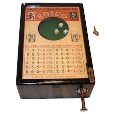 Bally Bosco Bartop Dice Gambling Game 1930's