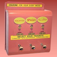 Perfumatic Coin-Op Wall Perfume Dispenser 1950's Excellent