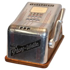 The Play-Write Gambling Trade Stimulator 1940-50's