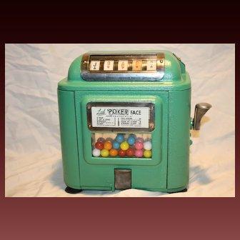 Little Poker Face. J.M. Sanders 1 or 5¢  Trade Stimulator