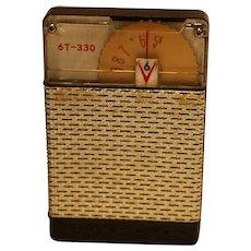 6T-330 Six Transistor Radio - 1959 AFCO