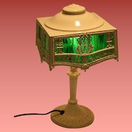 1910-20s Signed PLB & G CO Table Lamp