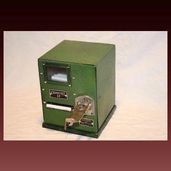 Silver Comet Cigarette Vending Machine 1930's