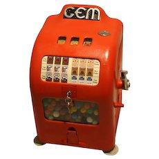 Gem 1¢ Trade Stimulator Slot Machine