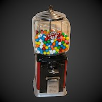 Victor Topper Vintage Gumball Machine
