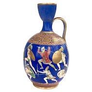 19th Century Samuel Alcock Neoclassical Porcelain Vase c.1855
