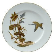 Minton Porcelain Aesthetic Movement Plate c.1872