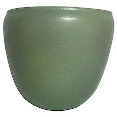 Marblehead Pottery, Wall Pocket Vase, Matte Gray, HTF