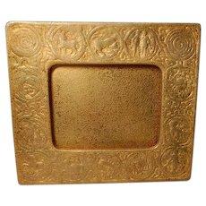 Tiffany Studios, Zodiac Picture, Large Calendar Frame, Gold (Dore') Acid Etched