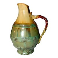 Fulper Pottery, Leopard Skin Jug, Great Glaze Glaze Combination, Excellent Condition