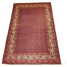 Persian Malayer Oriental Rug 6.7 x 4.3  1920's , Western Persia