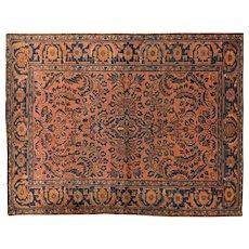 Lilian Oriental Rug 6.5x4.10, Hamadan Weaving Region 1930's