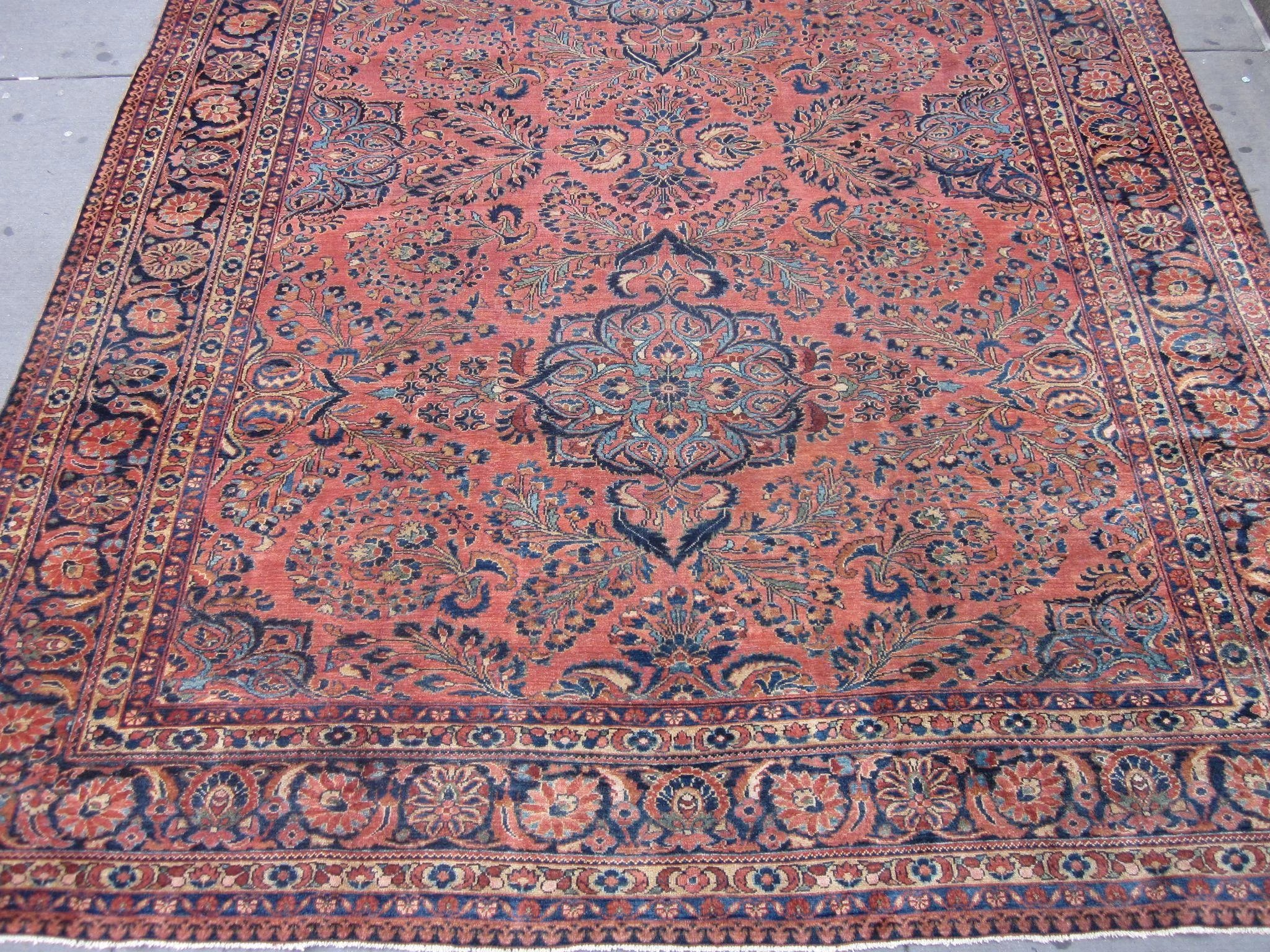 1920 S Lilian Carpet Hamadan Area West Persia 11 9 X