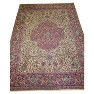 Kerman carpet,Southeast Iran circa 1920 , 11.10 x 8.6