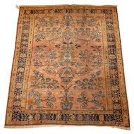 Persian handmade Lilian Oriental Rug , Hamadan Weaving Region, circa 1920 , 6 x 5.2
