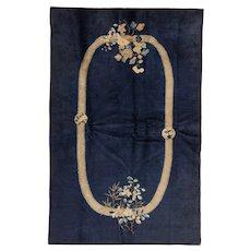Antique Peking Chinese Oriental Rug circa 1900 , 7.8 x 4.10