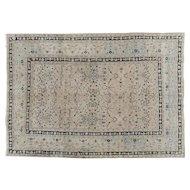 Antique Meshed Dorokhsh Oriental Rug Carpet , Khorassan , Northeast Persia circa 1910 , 10.5 x 7.4