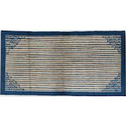 Peking Chinese Oriental Rug , Northeast China circa 1920 , 3.10 x 7.4
