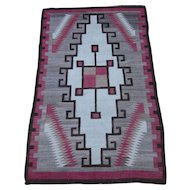 Navajo Rug , American Southwest , 1st Quarter of 20th Century , 5.10 x 3.8