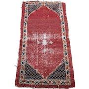 Antique Bakhshayesh Type Heriz Oriental Rug , Azerbaijan Province , NW Persia , late 19th Century , 4.8 x 2.6
