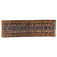 Heriz Runner , NW Persia , Early 20th Century , 9.3 x 2.10