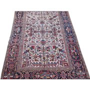 Heriz Small Carpet , Oriental Rug , NW  Persia , 2nd Quarter 20th Century , 9.6 x 6.8