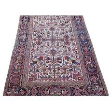 Heriz Small Carpet , Oriental Rug , NW  Persia , 2nd Quarter 20th Century , 9.6 x 6.8
