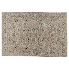 Vintage Tabriz Small carpet, 9 x 6.2  NW Persia circa 1930's