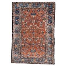 1920's Lilian rug 4.8x3.2 , Western Persia