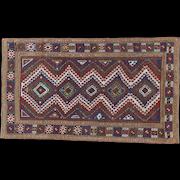 Antique Bordjalou Kazak  9.1x5.2 , SW Caucasus , late 19th Century