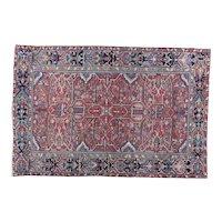 Heriz Carpet 10.11x7.5 Oriental Rug , NW Persia 1920's