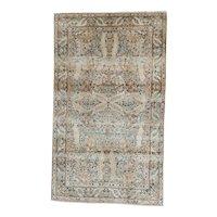 Persian Handmade Kerman Oriental Rug  4.10x2.10 circa 1920