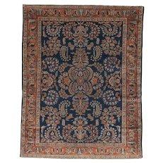 Lilian Oriental Rug 6.6 x 5.1 , Squarish , Western Persia circa 1920's