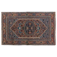 Antique Bidjar Rug 7.7 x 4.8 , Kurdistan,Western Persia , End of 19th Century