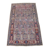 Antique Malayer Oriental Rug , West Central Persia  circa 1910 , 6.5 x 4