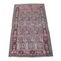 Antique Malayer Oriental Rug , West Central Persia  circa 1910 , 6.5 x 4