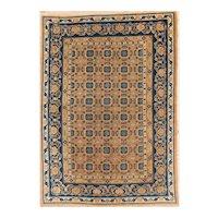 Antique Khotan Small Carpet 8.8x6.2  circa 1900