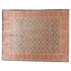 Vintage Tabriz Oriental Rug 10.6x8.3, NW Persia 1940's