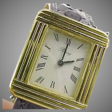 Poiray Paris Ladies Ma Premiere Watch with Six Exotic Leather Bands